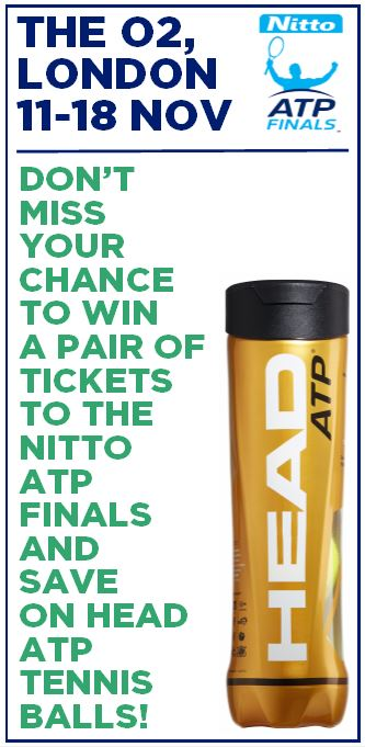 Win a pair of tickets to the Nitto ATP Finals