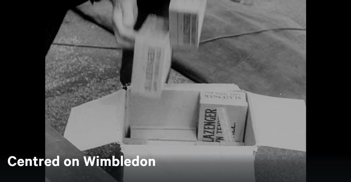 Centred on Wimbledon 1947