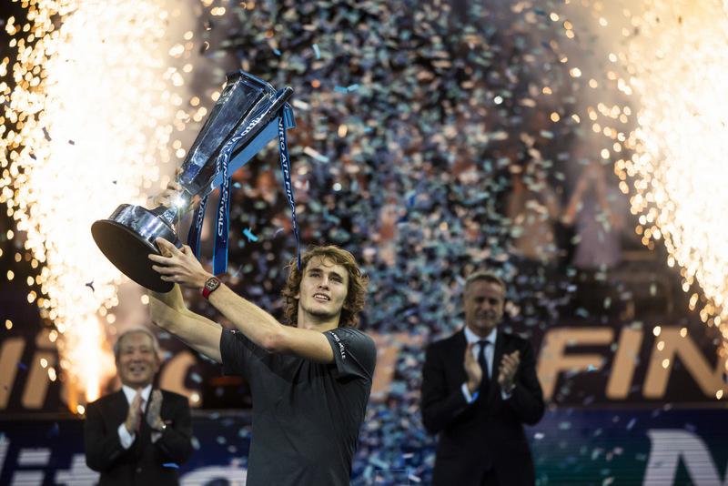 Alexander Zverev wins in 2018