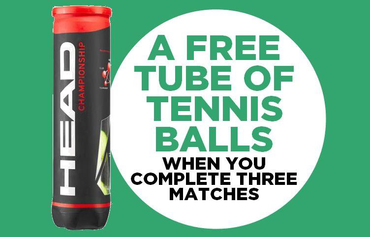 Free tennis balls!