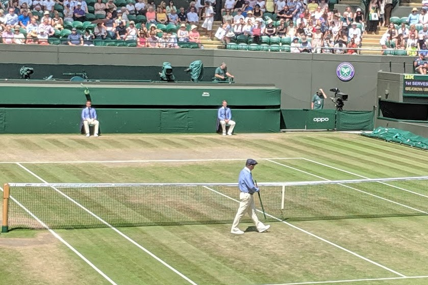 Wimbledon measuring