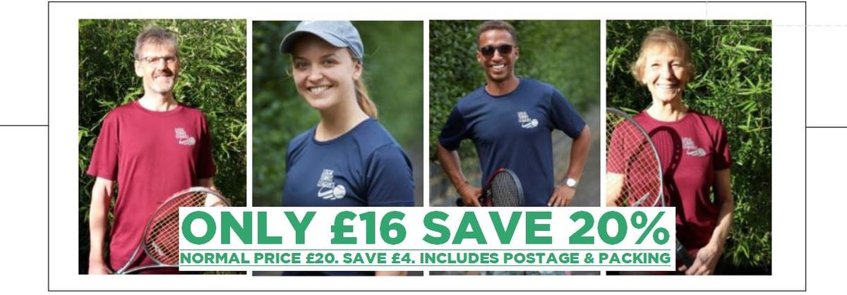 Save 20% on our shirts