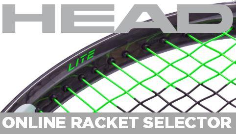 HEAD Online Racket Selector