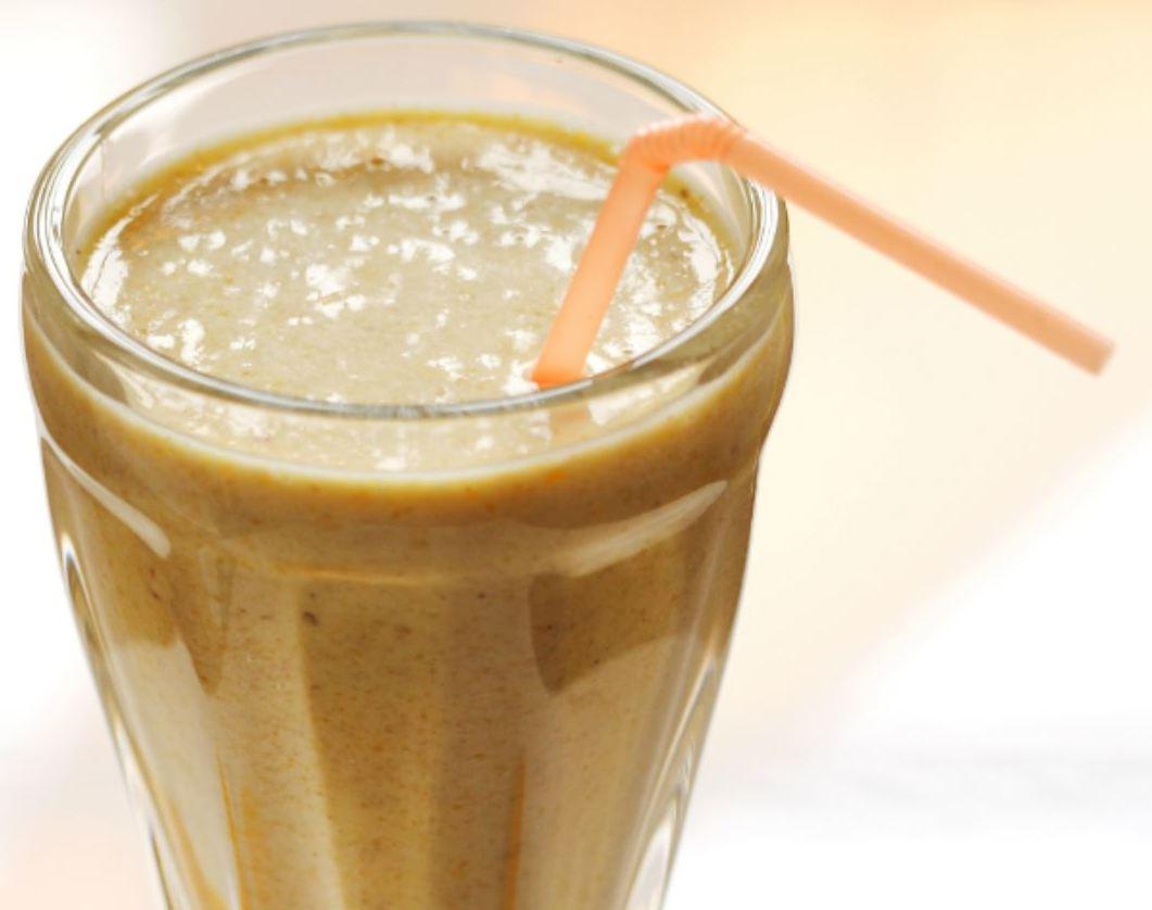 Peachy Breakfast Milkshake