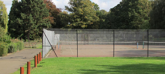 Abington Park, a stunning place to play tennis