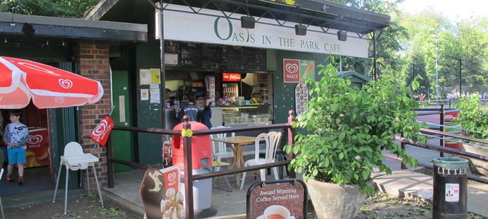 The Oasis Cafe