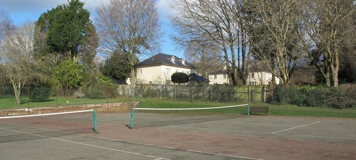 Alice Park tennis courts