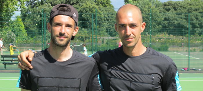 Mario and Jorge run the on-site coaching programmes