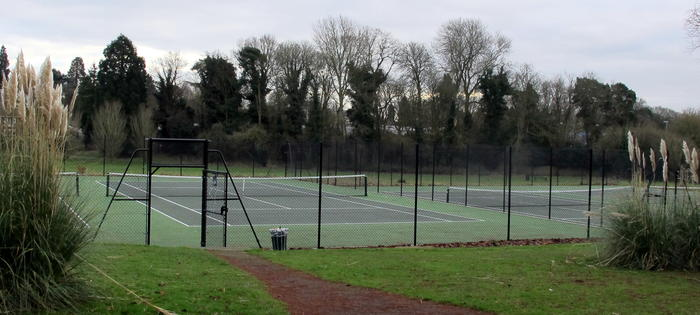 Shirley Parks new courts
