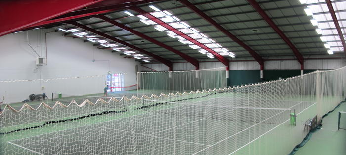 Brilliant indoor courts