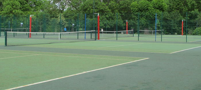 Eight excellent courts