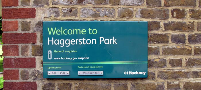 One of Hackney's great parks