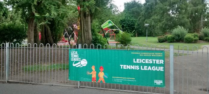 Abbey Park - dont we just love our banners!