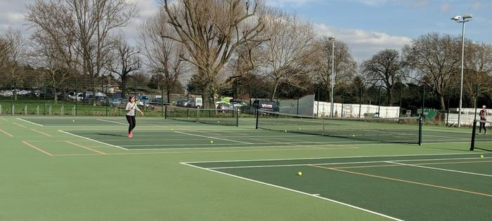 Tennis at Ashburton Park