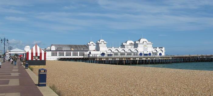 We do like to play beside the seaside