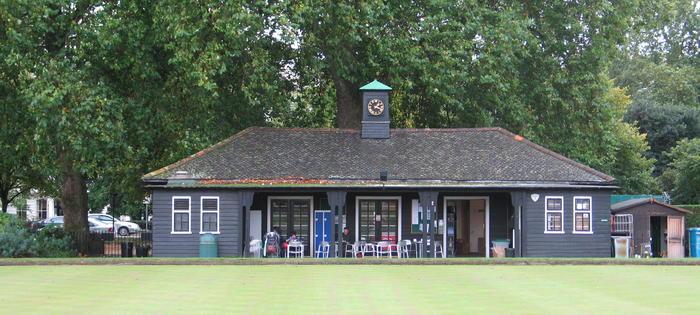 The pavilion at Hyde Park