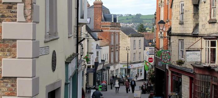 Stroud town centre