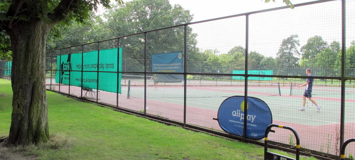 The courts at Tooting Bec