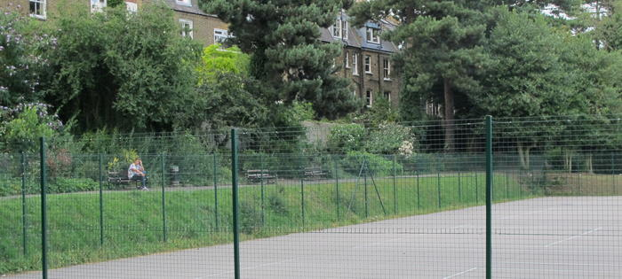 The courts at Waterlow Park, Highgate