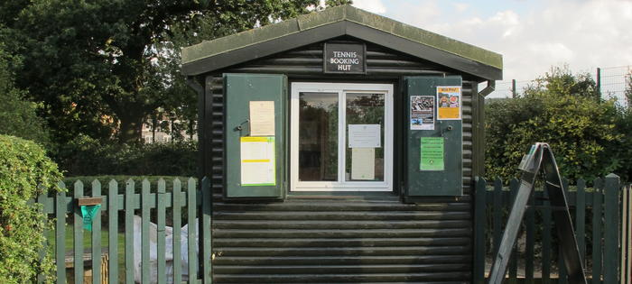 The booking hut at Parliament Hill