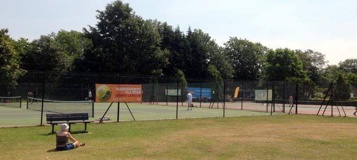 The courts at Wandsworth Common