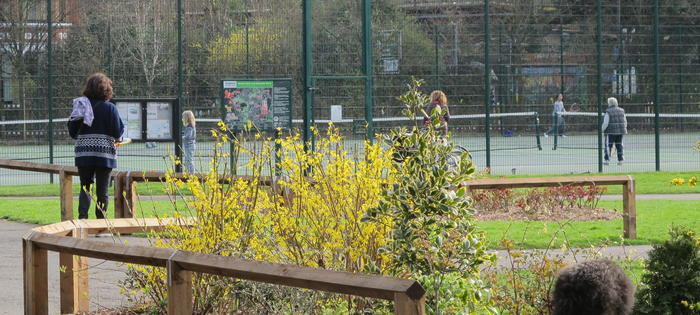 Belair Park Tennis Courts