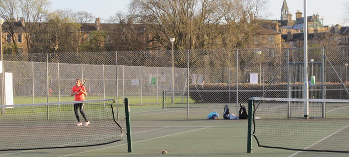Great courts with floodlights)
