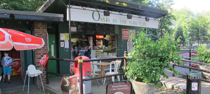 Oasis Cafe, Highbury Fields