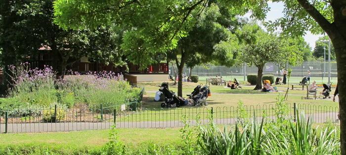 Beautiful Wimbledon Park