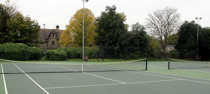 St Michaels Park courts