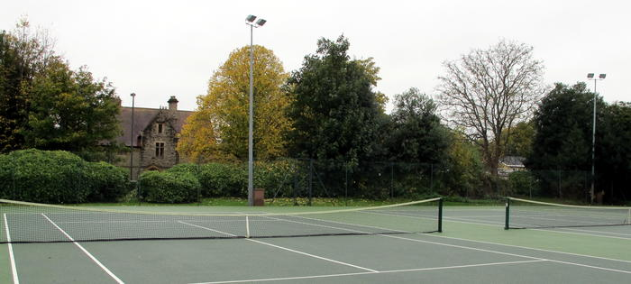 The courts in St Michaels Park