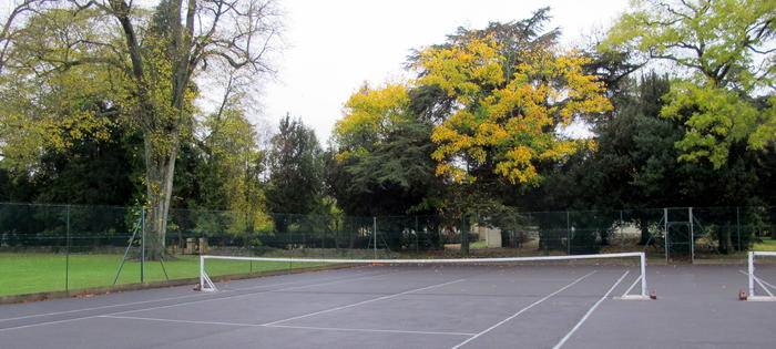 The courts at the Agricultural University