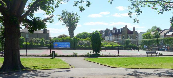 More courts at Leaders Gardens
