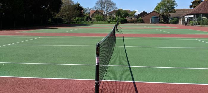 Maltravers Park hard courts