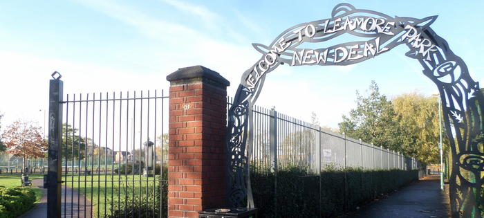 Leamore Park - picture by Nathan Farrell