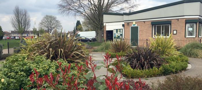 Time for refreshements: Sanders Park Cafe