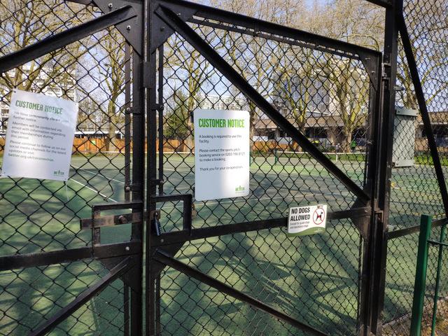 Archbishop's Park, South London